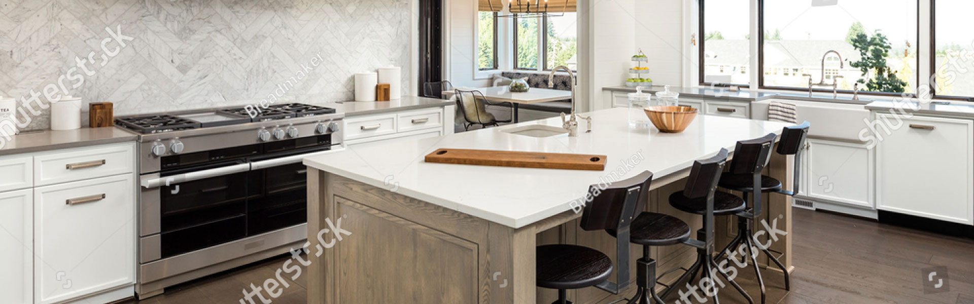 A banner image showing kitchen laminate surfaces