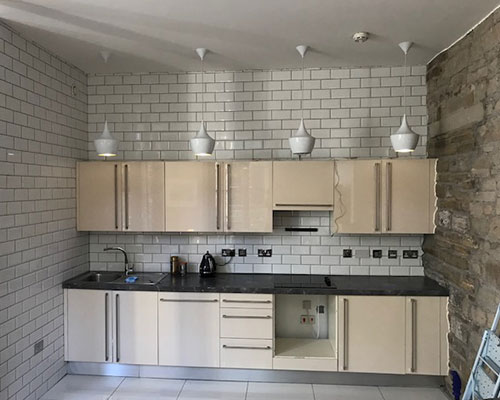 Painting Kitchen Cabinets in Altrincham